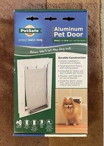 PetSafe SMALL Freedom Aluminum Pet Dog Cat Door Animals up to 1-15 lbs