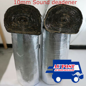 31.21Sqft Heat Shield Insulation Sound Deadener Fit Auto Boots Door Under Bonnet