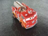 DISNEY PIXAR CARS DIE CAST MINI RACERS RED FIRE TRUCK LOOSE FREE SHIP $15+