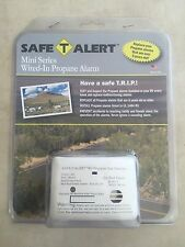 Safe-T-Alert Mini Series Wired-In Propane Alarm for RV / Camper / Motorhome