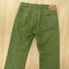 MENS LEE DAREN TALL 36 LEG SOFT TWILL CHINO ZIP FLY L707SC06 IVY GREEN