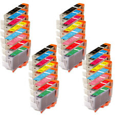 32 PK Ink Combo Pack + latest Chip for CLI-8 Pixma Printer Pro9000 Mark II