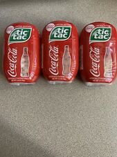 Tic Tac Coca-Cola LIMITED EDITION 3 Pack; Each Pack(200pc/3.4oz/98g)