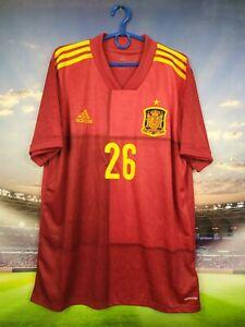Spain  Jersey 2020 2021 Home LARGE Shirt Soccer Football Adidas FR8361