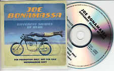JOE BONAMASSA Different Shades of Blue UK 11-trk numbered promo test CD