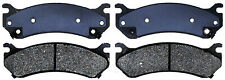 Disc Brake Pad Set-Ceramic Disc Brake Pad Rear,Front ACDelco Advantage 14D785CH