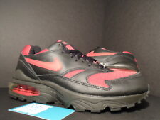 2002 Nike Air Max BURST 1 BLACK VARSITY RED WHITE BRED 604041-062 DS NEW 9