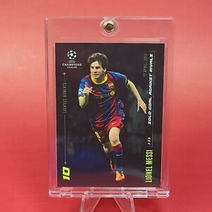 Lionel Messi BARCELONA EXCLUSIVE BLACK CARD - MINT - INVESTMENT
