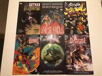 Batman Graphic Novel Tpb Lot