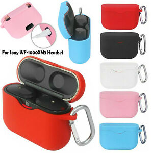 Protective Cover Case Shell Skin Silicone for Sony WF-1000XM3 Bluetooth Headset