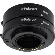 Polaroid Auto Focus DG Macro Extension Tube Set (10mm, 16mm) For Nikon 1 Digital