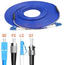 150M FC/SC/LC/ST UPC APC Duplex SingleMode Armored Fiber Patch Cord Fiber Cable