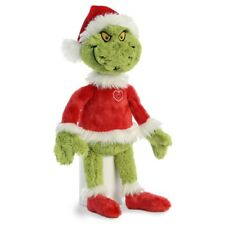 """Dr Seuss The Grinch Santa 19"""" Soft Toy New With Tags"""