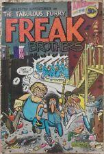 FABULOUS FURRY FREAK BROTHERS #1 1ST PRINT! VG/FN 5.0 RIP OFF PRESS 1971