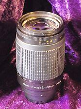 NIKON 70-300mm 4-5.6G AF Nikkor Telephoto Zoom Lens – Nikon DSLR w/Focus Motor
