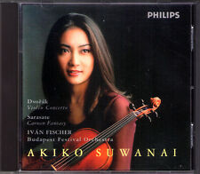 Akiko SUWANAI: DVORAK Violin Concerto SARASATE Zigeunerweisen Ivan FISCHER 諏訪内晶子