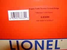 "Lionel 6-83689 Angela Trotta Thomas 12"" Half Covered Bridge Metal Frame MIB New"