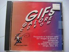 Vintage Software- Gifs Galore CDROM by Walnut Creek -Circa  Sept.1993- -B3033