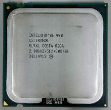 Intel Celeron CPU 440 2.0GHz 512K Cache 800MHz SL9XL