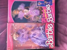 Lot 2 Vintage Garden Party  Barbie Doll 1988 & Lilac Lovely Barbie  DOLL 1987