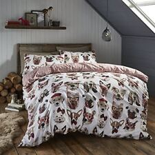 Linge de lit et ensembles marron avec des motifs Carreaux, pour chambre à coucher