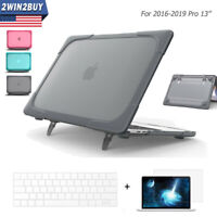 For MacBook Pro 13 inch Hard Case Armor Cover Keyboard LCD Protector Touch Bar