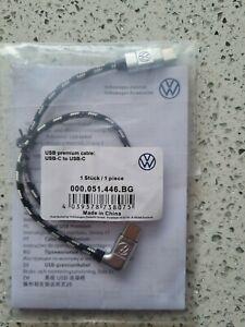 Volkswagen USB-C to USB-C Android USB Connect 000.051.446.BG ID.3 ID.4 Golf Mk8