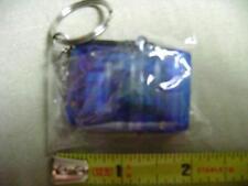 Mini Hand Crank Dynamo 2 LED Flashlight Keychain you pick color (NEW) Wind Up