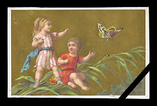 Original French Victorian Trade Card: Early 1900's Paris France