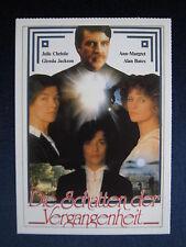 Filmplakatkarte videoplus  Die Schatten der Vergangenheit   J.Christie