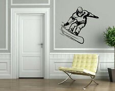 Snowboarding Winter Sport Ski Mountain Extreme Wall Art Decor Vinyl Sticker z002