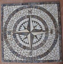 "Floor Marble Tile Medallion Polished Mosaic 32x32"" AWSOME  #14f"