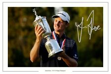 JUSTIN ROSE US Open Golf WIN 2013 FIRMATO Autograph Foto Stampa