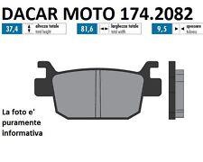 174.2082 PLAQUETTE DE FREIN SINTERED POLINI HONDA SH 125i <-2012 - ABS à partir