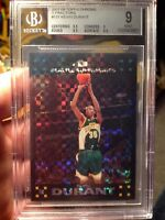 ~CENTERED 50/50 TOPPS CHROME XFRACTOR ROOKIE /50 BGS 9 2007 KEVIN DURANT NOT PSA