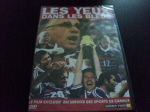 """DVD NEUF """"LES YEUX DANS LES BLEUS"""" documentaire coupe du monde 1998 98 football"""