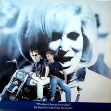 """PET SHOP BOYS/DUSTY SPRINGFIELD - WHAT HAVE I DONE TO DESERVE THIS UK 12"""" EX/EX"""