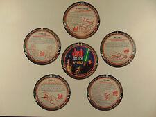Star Wars episode 1 Pizza Hut tie-in coasters (Jedi Mind Tricks) 1999 (set of 5)