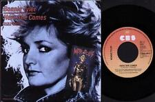 "BONNIE TYLER Here She Comes  7"" Ps, B/W Time, Cbsa 4637, Promo Stamp On Rear Of"