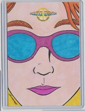 WOODSTOCK GENERATION ROCK POSTER CARDS SKETCH CARD SKETCHED BY SCOTT D.M SIMMONS