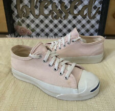 RARE Vintage Jack Purcell Converse Shoes Made In Usa Size 4 Mens / 6 Womens Pink