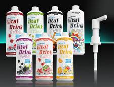 Best Body Nutrition Low Carb Vital Drink 1 Liter Sirup  ohne o. mit Dosierpumpe