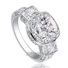 Cubic Zirconia Rhodium Fashion Jewellery