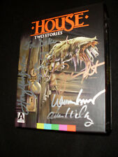 House: Two Stories Blu Ray Arrow Video signed by William Katt, George Wendt  + 4