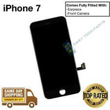 iPhone 7 Black Assembled Genuine OEM Replacement LCD Screen Digitizer Display