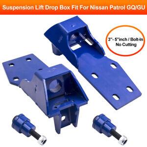 "SUSPENSION LIFT DROP BOXES BOX For NISSAN PATROL 3"" - 5"" INCH GQ Y60 GU Y61"