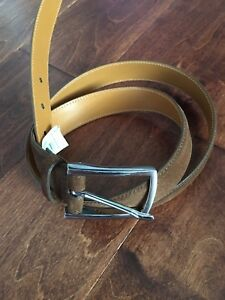 NWT $295 RALPH LAUREN PURPLE LABEL  SNUFF BELT SZ 34, MADE IN ITALY