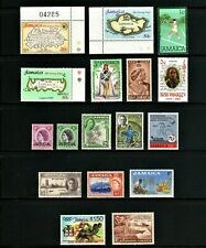 Jamaica -- 17 diff MNH -- cv $9.55