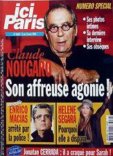 2004: CLAUDE NOUGARO_FRANK MICHAEL_HELENE SEGARA_JULIE ANDRIEU_JONATAN CERRADA