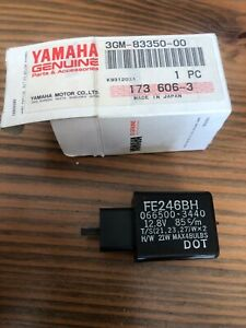 Flasher Relay Assy Yamaha FZR1000 XV250 Virago YZF600 YZF750 3GM-83350-00 New